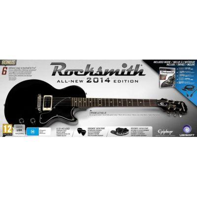 RockSmith 2014 Guitar Bundle (диск с песнями + гитара)
