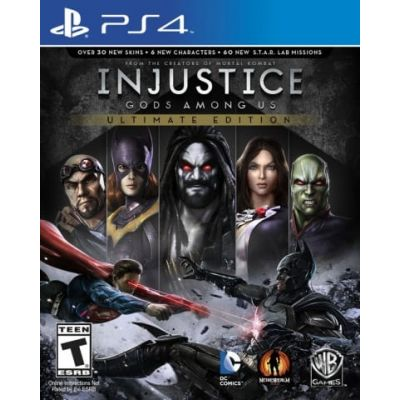 Injustice: Gods Among Us Ultimate Edition (русская версия) (PS4)