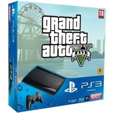Sony PlayStation 3 Super Slim 500Gb   Игра GTA V