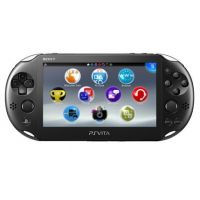 Sony PS Vita Slim 2000 Crystal Black Wi-Fi + USB кабель + Мягкий Чехол