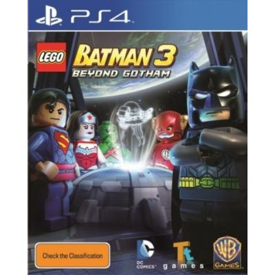 Lego Batman 3 Beyond Gotham (русская версия) (PS4)