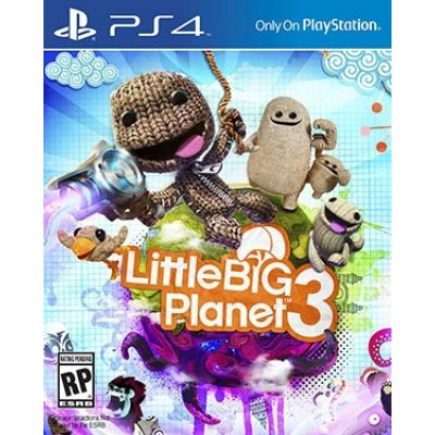 Little Big Planet 3 (русская версия) (PS4)