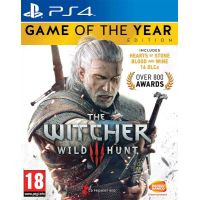 The Witcher 3: Wild Hunt Game of The Year Edition (русская версия) (PS4)