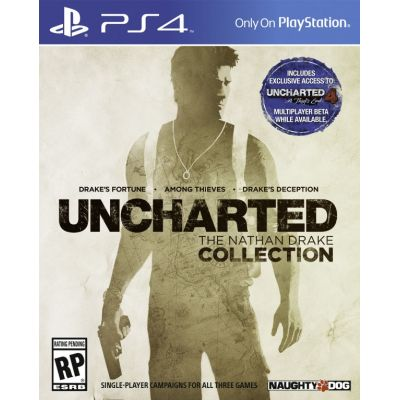 Uncharted: The Nathan Drake Collection (английская версия) (PS4)