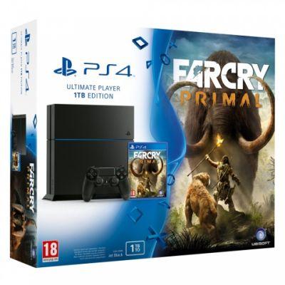 Sony PlayStation 4 Ultimate Player 1Tb Edition + Far Cry Primal (русская версия)