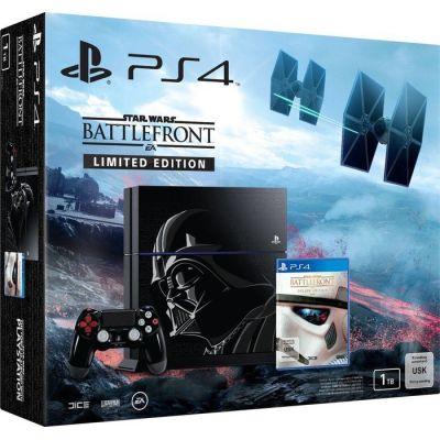 Sony PlayStation 4 1Tb Limited Edition + Star Wars: Battlefront (русская версия)