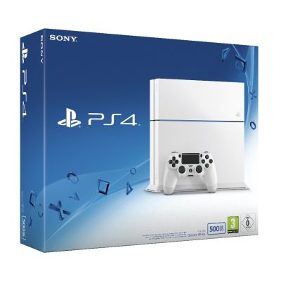 Sony PlayStation 4 Glacier White 500Gb