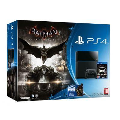 Sony PlayStation 4 500Gb + Игра Batman: Arkham Knight (русская версия)