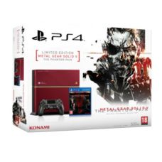 Sony PlayStation 4 500Gb Limited Edition + Игра Metal Gear Solid V: The Phantom Pain (русская версия)