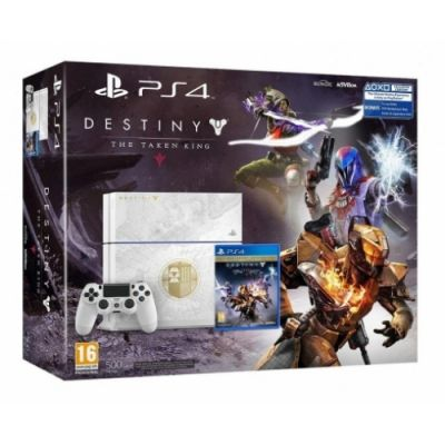 Sony PlayStation 4 500Gb Limited Edition + Игра Destiny: The Taken King