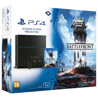 Sony PlayStation 4 1Tb + Star Wars: Battlefront (русская версия)