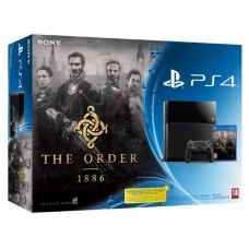 Sony PlayStation 4 500Gb + Игра The Order 1886 (русская версия)