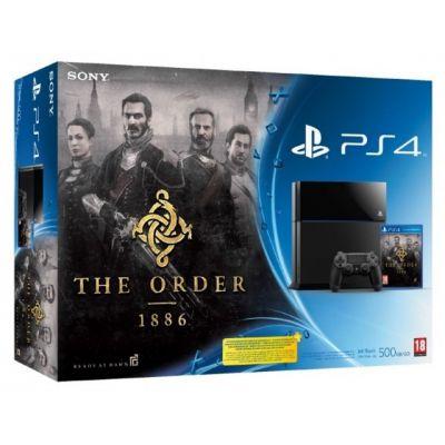 Sony PlayStation 4 500Gb + Игра The Order 1886 (русская версия)