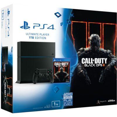 Sony PlayStation 4 1Tb + Call of Duty: Black Ops 3 (русская версия)