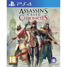 Assassin's Creed Chronicles: Трилогия (русская версия) (PS4)