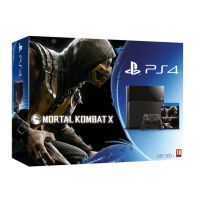 Sony PlayStation 4 500Gb + Игра Mortal Kombat X (русская версия)