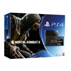Sony PlayStation 4 500Gb + Игра Mortal Kombat X (русская версия)