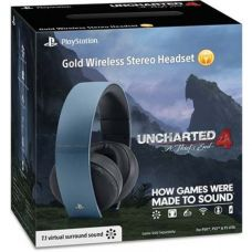 Gold Wireless Stereo Headset Limited Edition (Gray Blue)