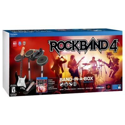Rock Band 4 (игра + гитара) (PS4)