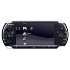Sony PSP Slim 3000 Piano Black + Чехол + Пленка + USB кабель