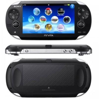 Sony PS Vita Crystal Black Wi-Fi + 3G + USB кабель + Чехол