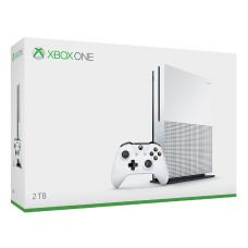 Microsoft Xbox One S 2Tb White + Adapter Kinect + Kinect