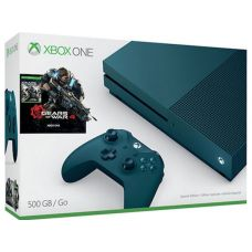 Microsoft Xbox One S 500Gb Deep Blue + Gears Of War 4 (русская версия)
