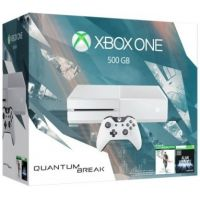 Microsoft Xbox One 500Gb White + Quantum Break (русская версия) + Alan Wake (русская версия)