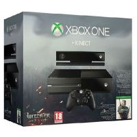Microsoft Xbox One 500Gb + Kinect + The Witcher 3: Wild Hunt Game of The Year Edition (русская версия)