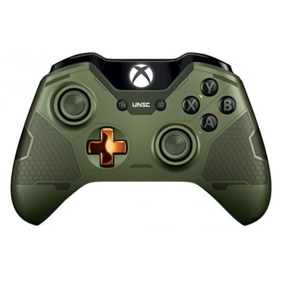 Microsoft Xbox One Wireless Controller Limited Edition (Halo 5: Guardians Green)