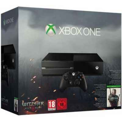 Microsoft Xbox One 500Gb + The Witcher 3: Wild Hunt Game of The Year Edition (русская версия)