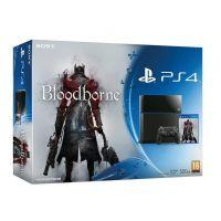 Sony PlayStation 4 500Gb + Игра Bloodborne: Порождение крови (русская версия)