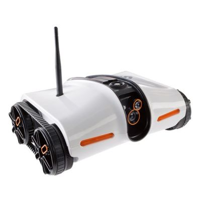 Brookstone Rover (App-Controlled Spy Tank with Night Vision)