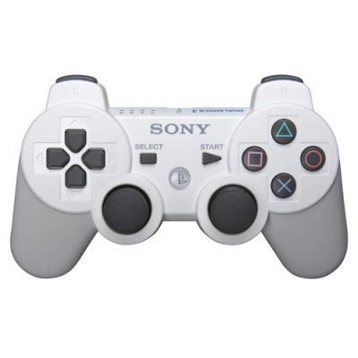 Sony DualShock 3 Wireless Controller (white)