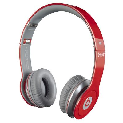 Monster Beats Solo High Definition On-ear Headphones with ControlTalk Red