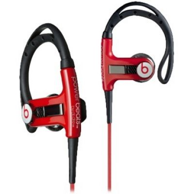 Monster PowerBeats Sport Headphones Red