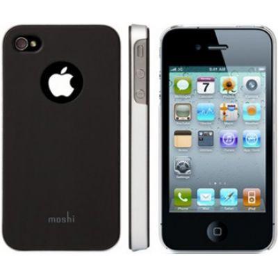 Moshi iGlaze 4 Snap-On Case Graphite Black  для iPhone 4/4S