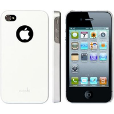 Moshi iGlaze 4 Snap-On Case Pearl White для iPhone 4/4S
