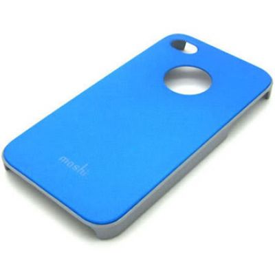 Moshi iGlaze 4 Snap-On Case Ligth Blue для iPhone 4/4S