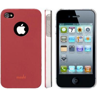 Moshi iGlaze 4 Snap-On Case Cranberry Red для iPhone 4/4S