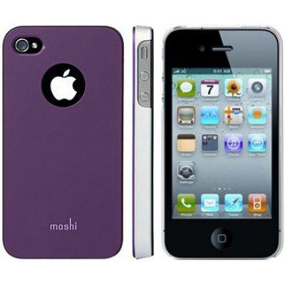 Moshi iGlaze 4 Snap-On Case Tyrian Purple для iPhone 4/4S