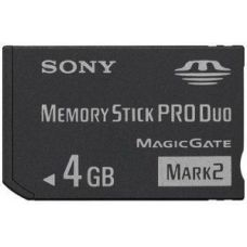 Sony Memory Stick Duo Pro 4 GB