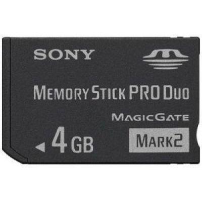 Sony Memory Stick Duo Pro 4 GB