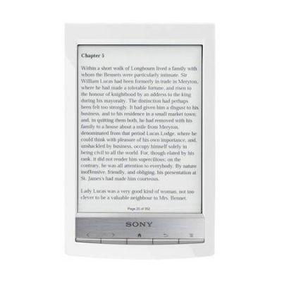 Sony Reader PRS-T1 (white)