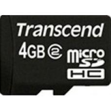 Trancend MicroSD 4GB+SD adapter