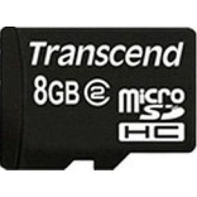 Trancend MicroSD 8GB+SD adapter