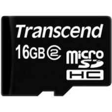 Trancend MicroSD 16GB+SD adapter