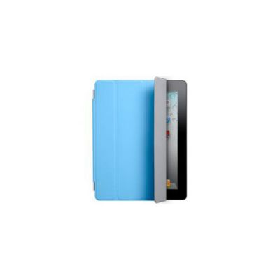Чехол Apple iPad 2 Smart Cover (Polyurethane) Blue (MC942ZM/A)