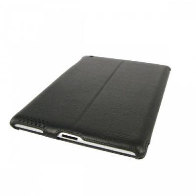Чехол Kazee CoverUp Genuine Leather Pouch iPad 2 Litchi Black (KZ-LC2iPD2)