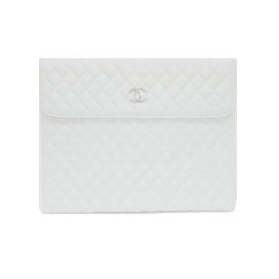 Чехол Minjes Chanel White for iPad 2
